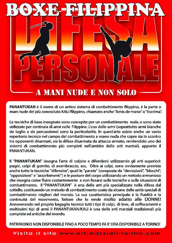 difesa personale arti marziali fb fight torino