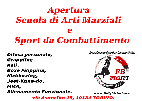 palestra fbfight arti marziali torino